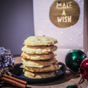 Weisse Schokolade Zitronen Cookies