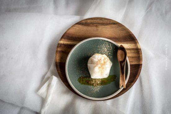 Mochi Ice Cream mit Mövenpick Passion Fruti & Mango