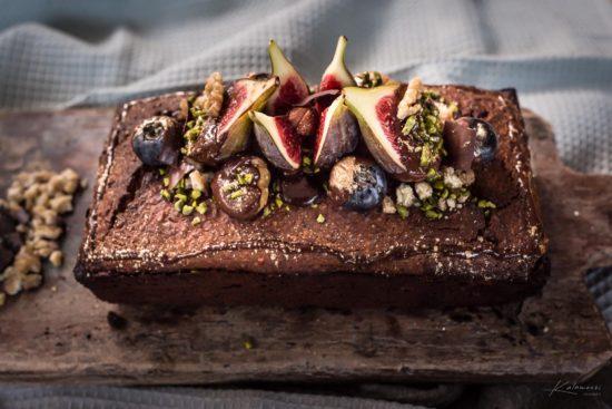 Maroni Cake mit Schoggifeigen